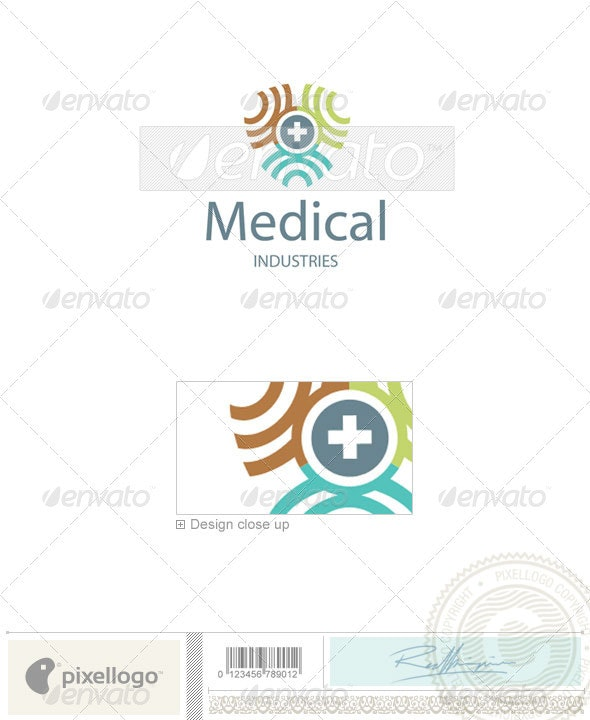 Industry & Science Logo - 2045 - Vector Abstract