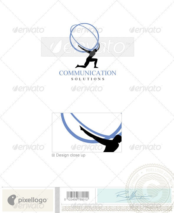 Business & Finance Logo - 1043 - Vector Abstract