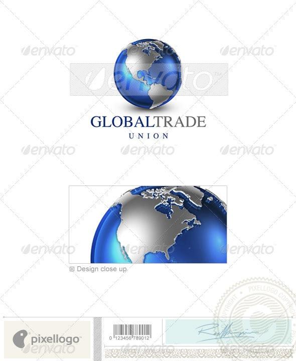 Communications Logo - 3D-22 - 3d Abstract