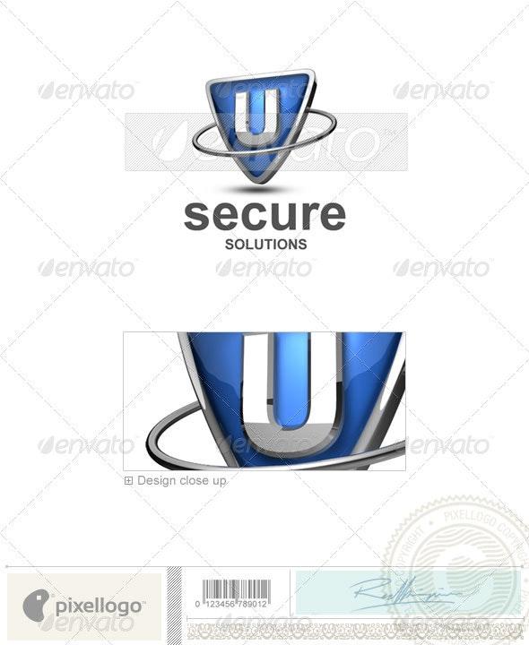 U Logo - 3D-285-U - Letters Logo Templates
