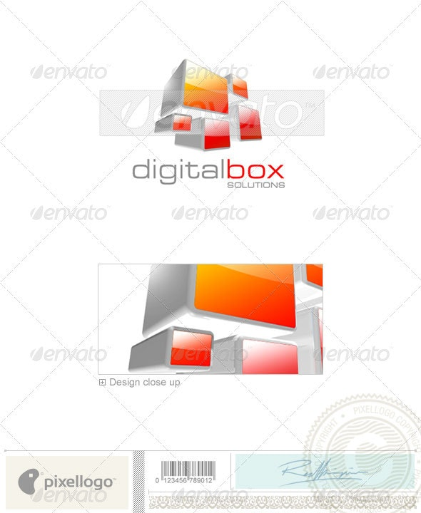 Activities & Leisure Logo - 3D-241 - 3d Abstract