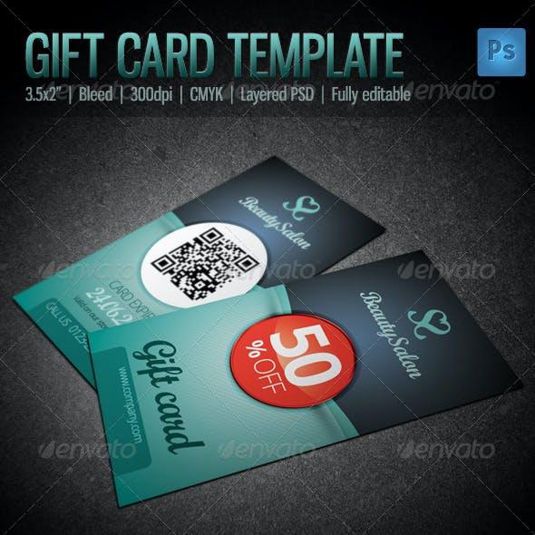 Gift / Voucher Card Template