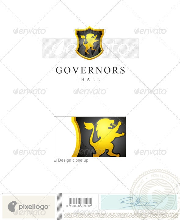 Industry & Science Logo - 1338 - Crests Logo Templates