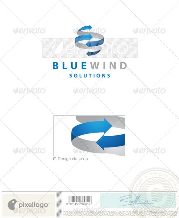 Communications Logo - 2001 - Vector Abstract