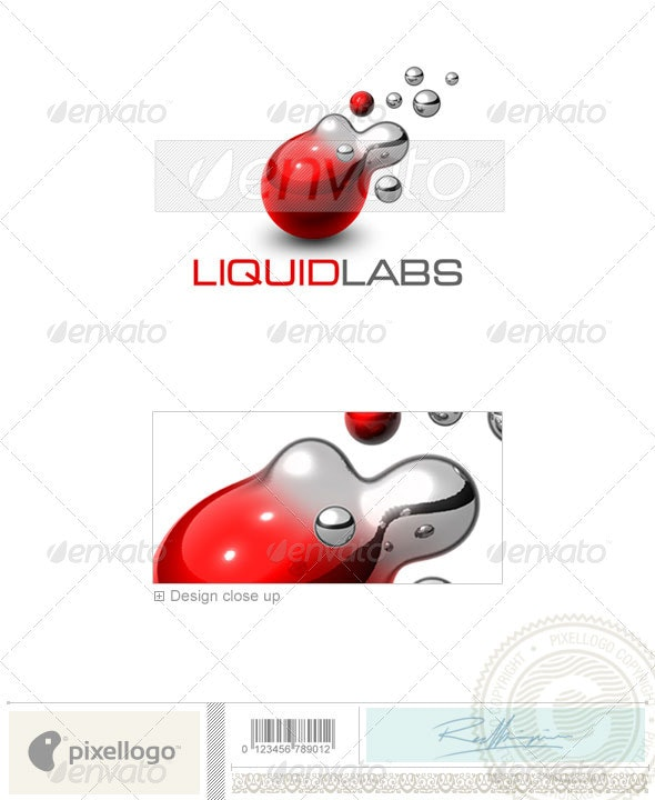 Communications Logo - 3D-440 - 3d Abstract