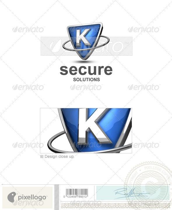 K Logo - 3D-285-K - Letters Logo Templates