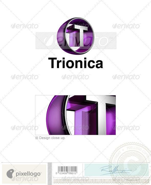T Logo - 3D-438-T - Letters Logo Templates