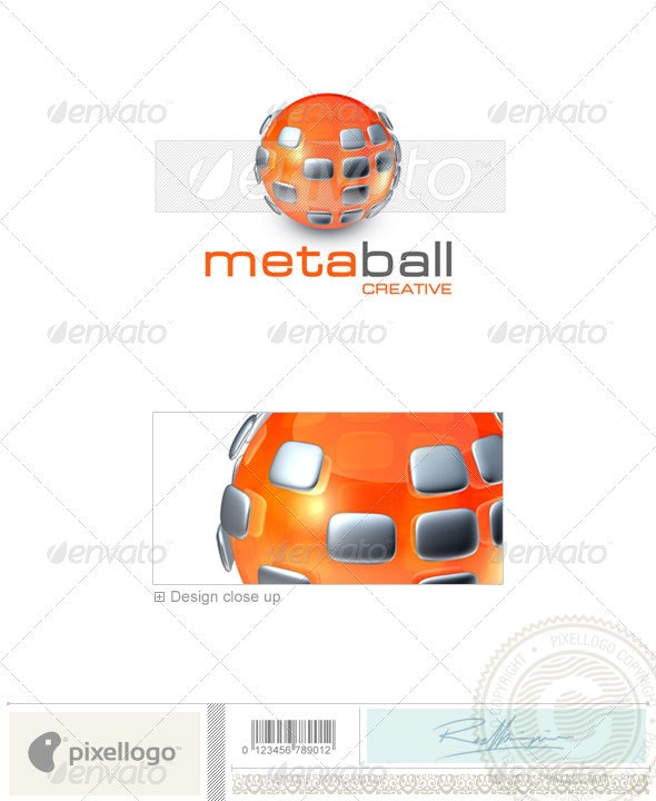 Communications Logo - 3D-355 - 3d Abstract