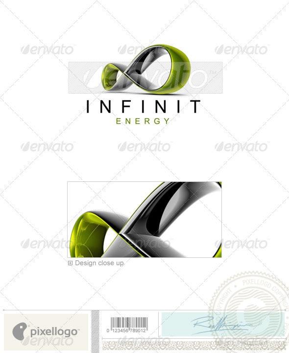 Technology Logo - 3D-477 - 3d Abstract