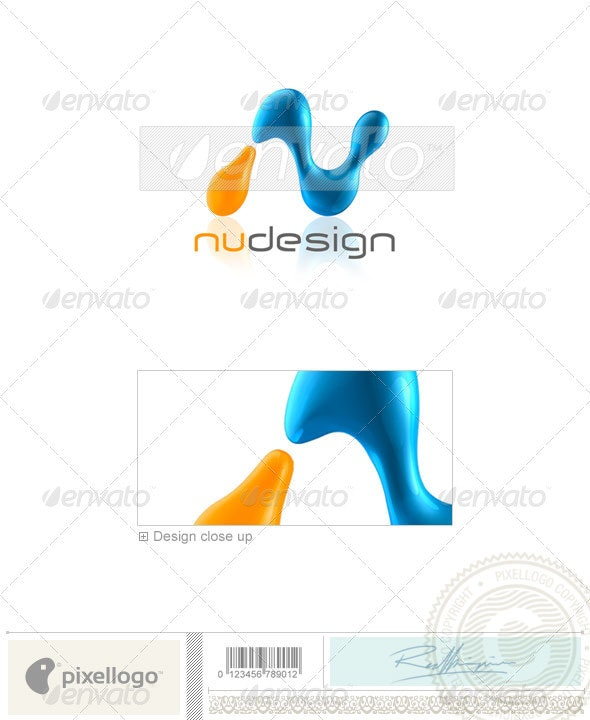 Print & Design Logo - 3D-196 - 3d Abstract
