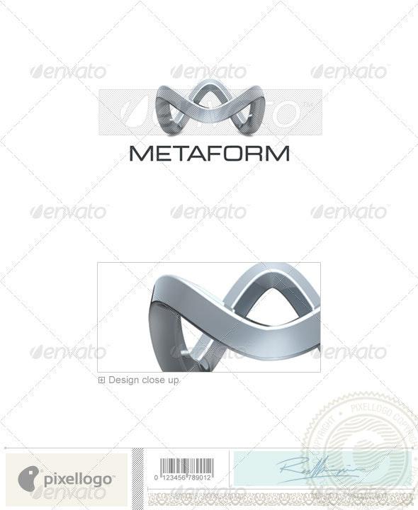 Technology Logo - 3D-319 - 3d Abstract