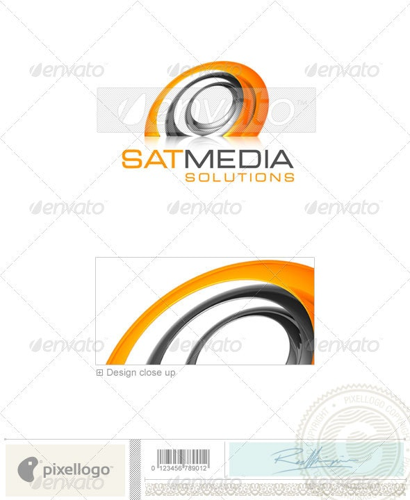 Communications Logo - 3D-437 - 3d Abstract
