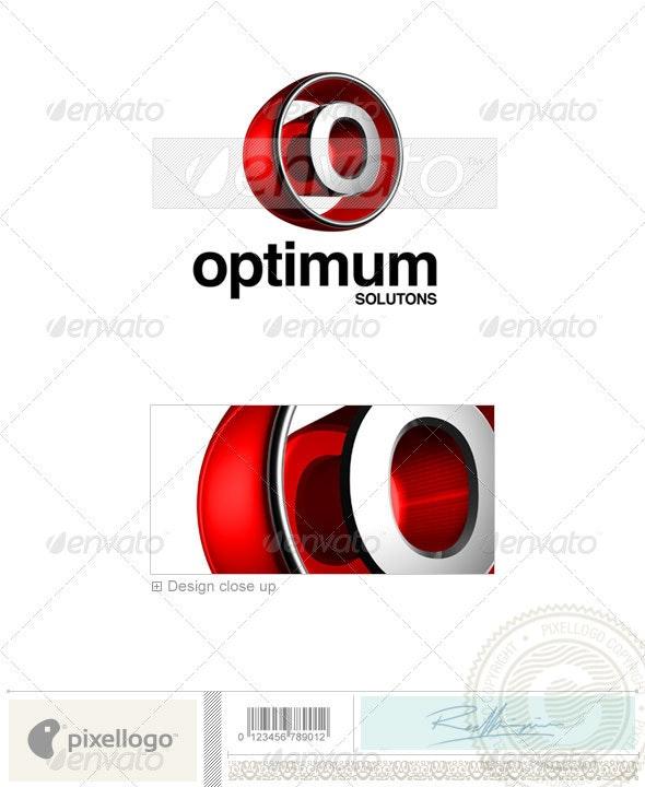 O Logo - 3D-438-O - Letters Logo Templates