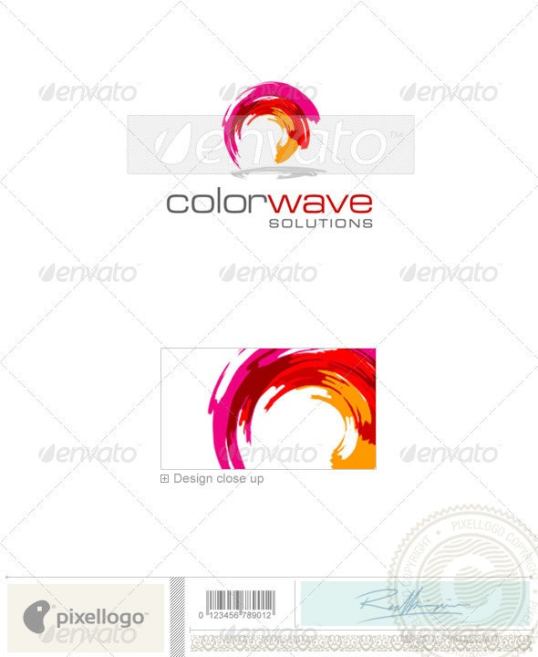 Print & Design Logo - 1590 - Vector Abstract