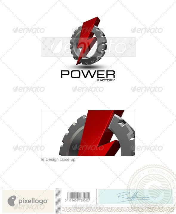Industry & Science Logo - 3D-213 - 3d Abstract