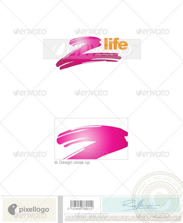Print & Design Logo - 1842 - Vector Abstract