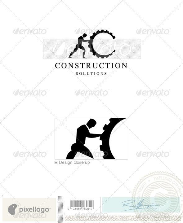 Home & Office Logo - 1686 - Humans Logo Templates