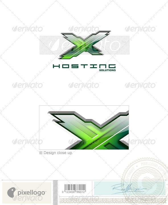 Technology Logo - 3D-122 - 3d Abstract