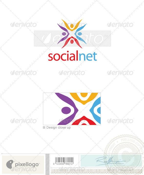 Business & Finance Logo - 1995 - Humans Logo Templates