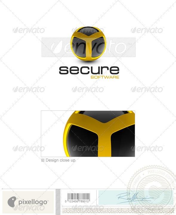 Technology Logo - 3D-284 - 3d Abstract