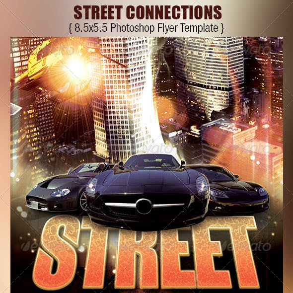 Street Connections Flyer Template