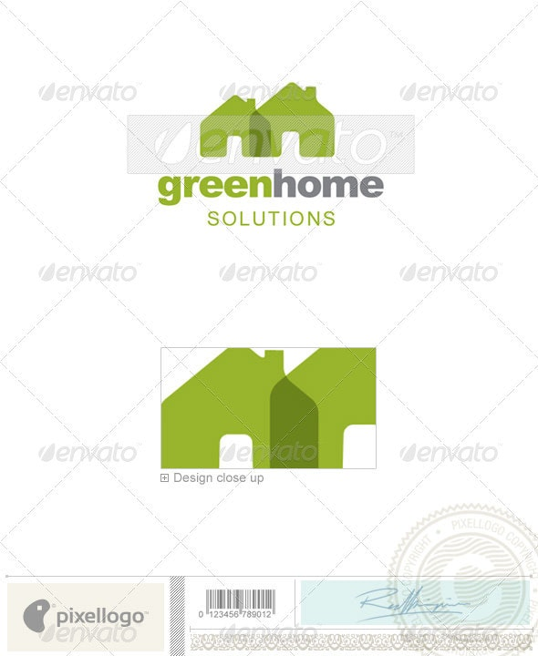 Home & Office Logo - 2216 - Vector Abstract