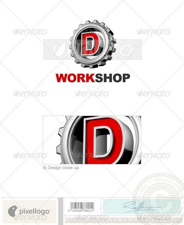 D Logo - 3D-292-D - Letters Logo Templates