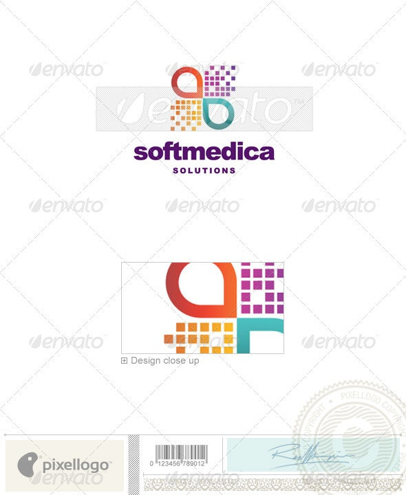 Industry & Science Logo - 2239 - Vector Abstract