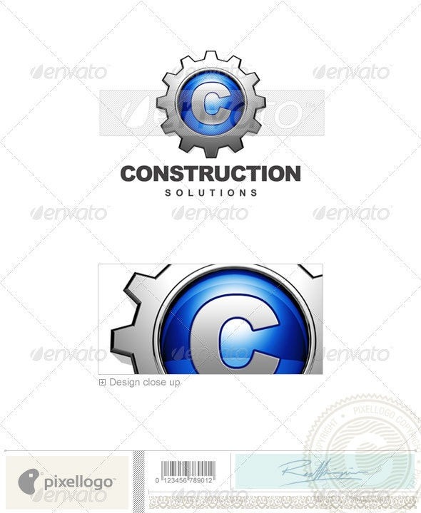 Industry & Science Logo - 3D-450 - 3d Abstract