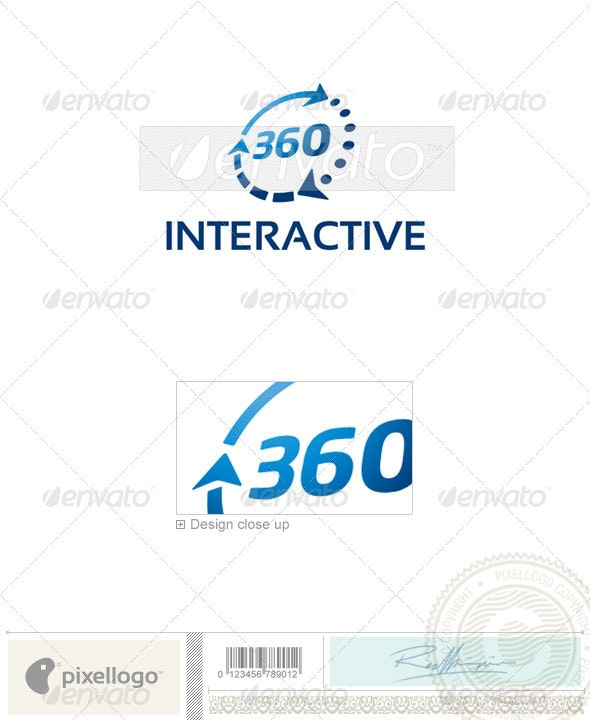 Technology Logo - 2235 - Vector Abstract