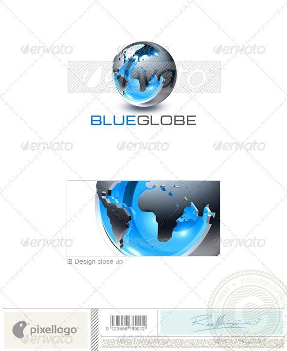 Communications Logo - 3D-250 - 3d Abstract