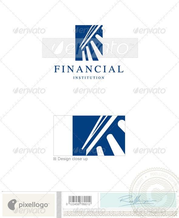 Business & Finance Logo - 642 - Buildings Logo Templates