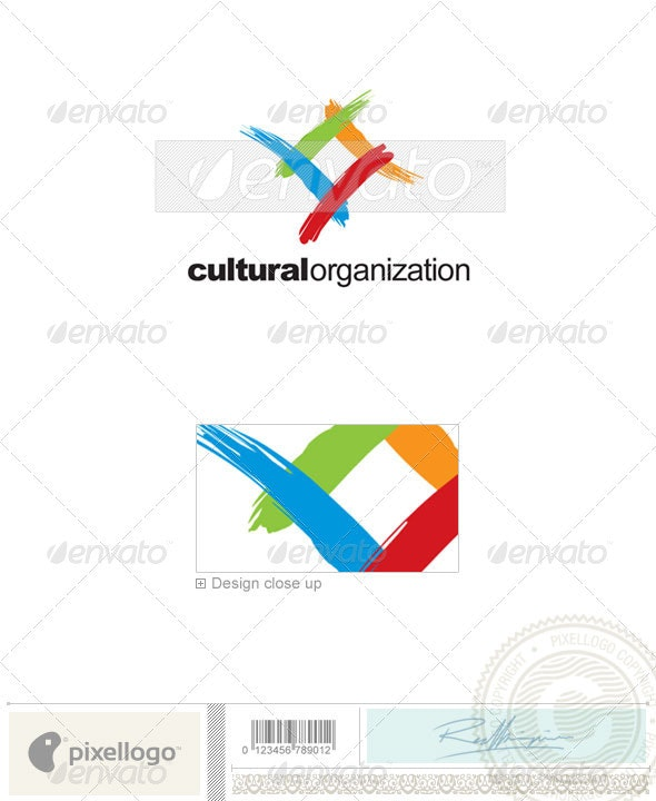 Print & Design Logo - 223 - Vector Abstract