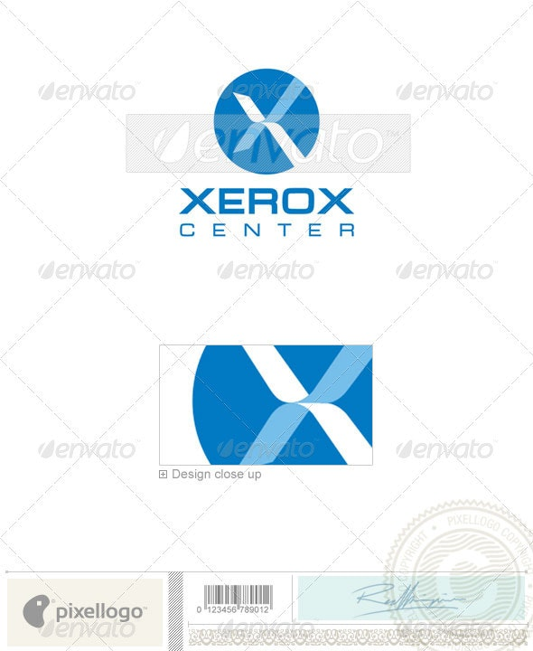 Business & Finance Logo - 309 - Letters Logo Templates