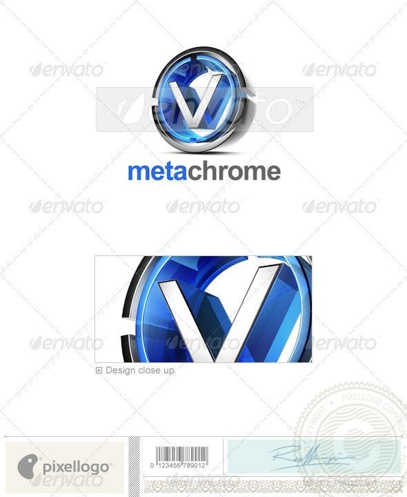 V Logo - 3D-476-V - Letters Logo Templates