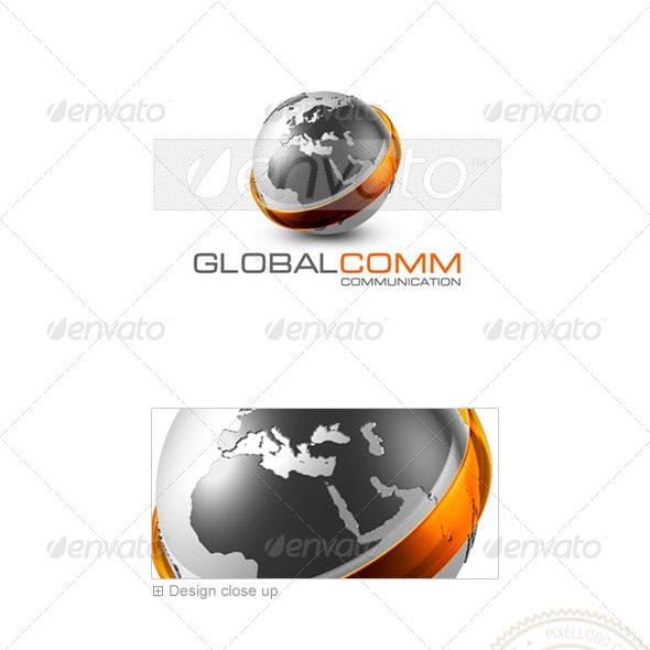 Communications Logo - 3D-479