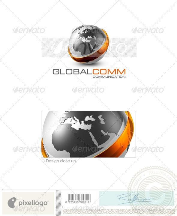Communications Logo - 3D-479 - 3d Abstract