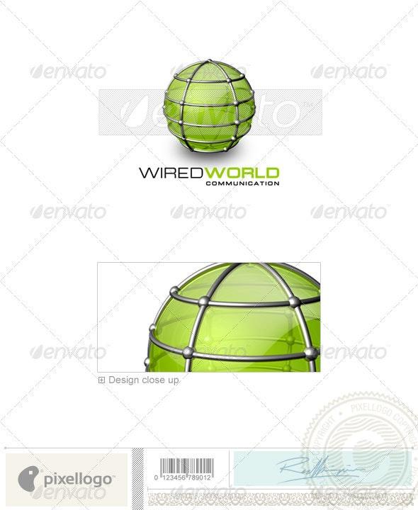 Communications Logo - 3D-159 - 3d Abstract