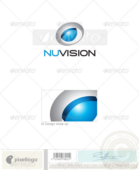 Industry & Science Logo - 1950 - Vector Abstract