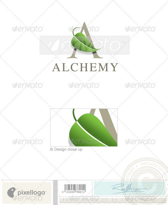 Nature & Animals Logo - 1741 - Letters Logo Templates
