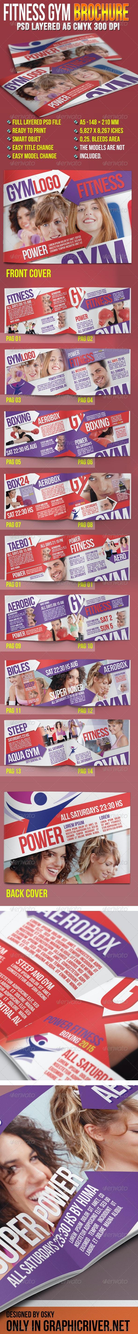 Fitness Gym Brochure - Catalogs Brochures