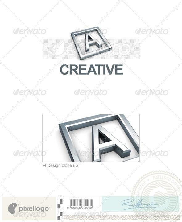 A Logo - 3D-295-A - Letters Logo Templates