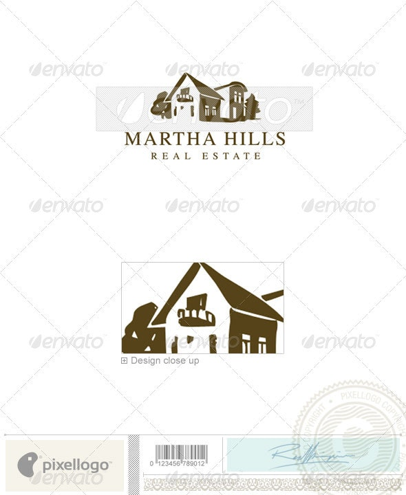 Home & Office Logo - 1661 - Buildings Logo Templates