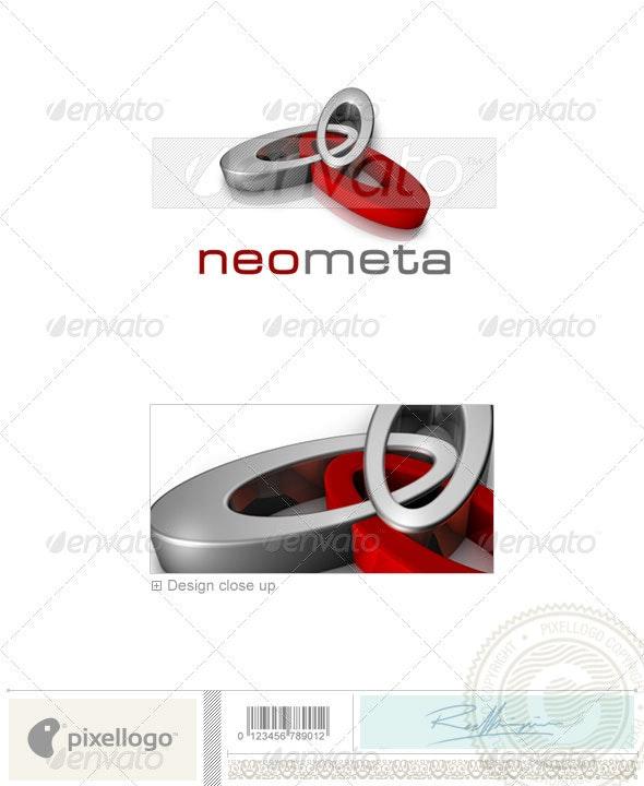 Technology Logo - 3D-400 - 3d Abstract