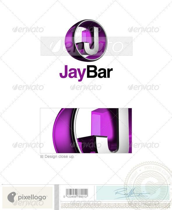J Logo - 3D-438-J - Letters Logo Templates
