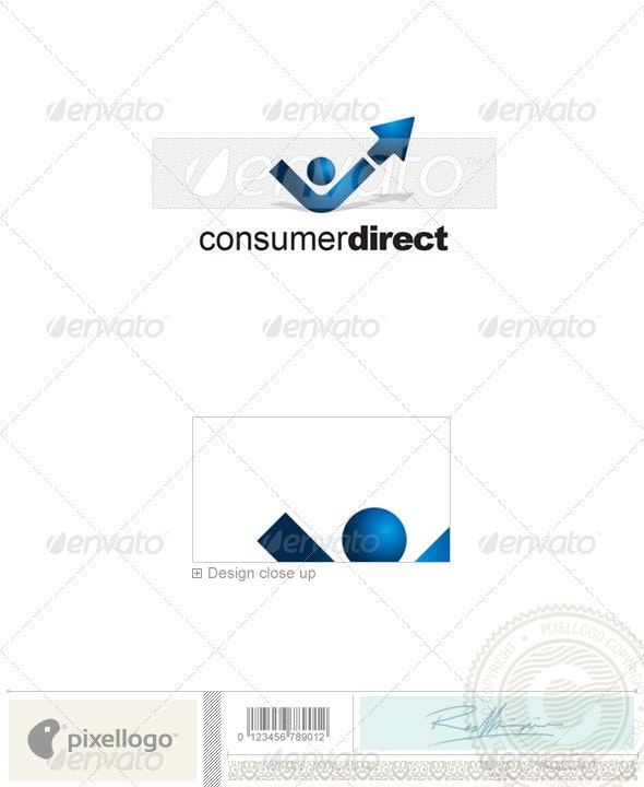 Business & Finance Logo - 1417 - Vector Abstract