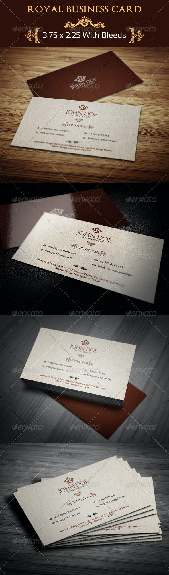 Royal Business Card  63 - Creative Business Cards