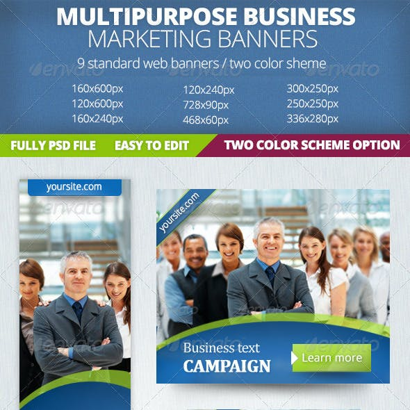 Business Marketing Banner