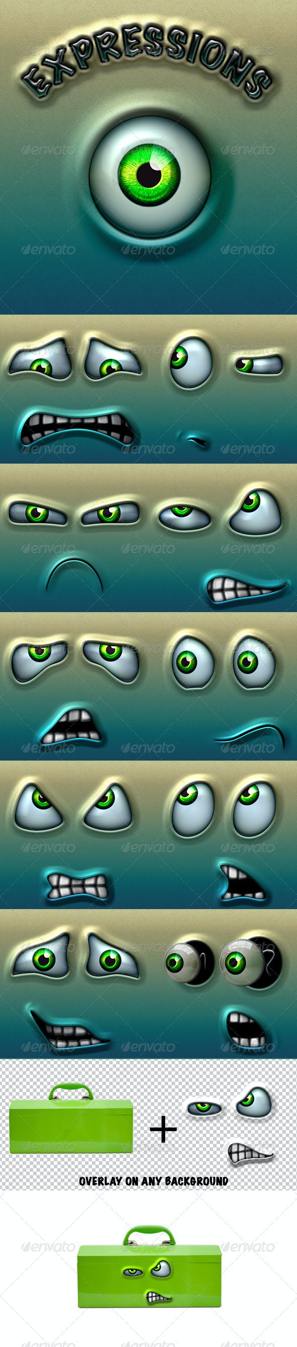 Character Expressions Pack 3 - Characters Illustrations