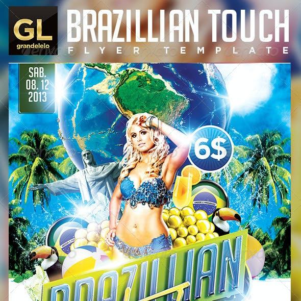 Brazilian Touch Flyer Template